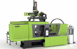 silcomix PE200 combined with an ENGEL victory 160 combi injection moulding machine
